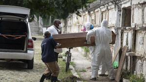 Brezilyada bir günde koronavirüsten dolayı 3 bin 693 kişi hayatını kaybetti