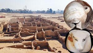 Mısırda büyük keşif: Kayıp altın şehir bulundu