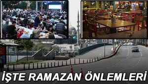 Ramazanda sokağa çıkma yasağının detayları netleşti