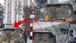 Ankarada 21 bina tahliye edildi Bakan Soylu ve Vali Şahin bölgeye gitti...