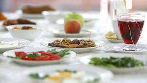 Sağlık Bakanlığından Ramazanda beslenme önerileri