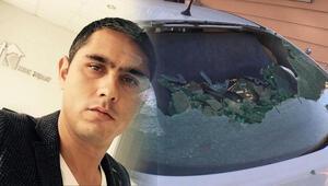 Habersizce otomobilde oturuyordu... Silahlı kavgada başından yaralandı