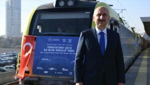 Bakü-Tiflis-Kars Demir Yolunda taşınan yük 155 bin tona yükseldi