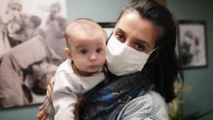 Doğuma günler kala koronavirüse yakalanmıştı İyi haber geldi
