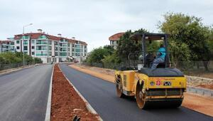Hayri Doğan Caddesinde asfalt çalışması