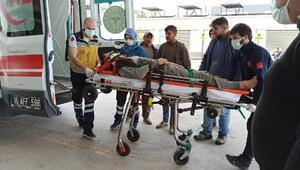 İnşaatın asansör boşluğuna düşen işçi ağır yaralandı