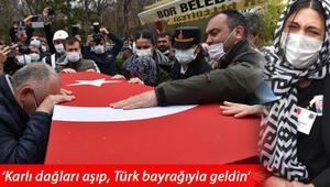Şehit Uzman Çavuş Erkan Erdem, gözyaşlarıyla uğurlandı