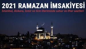 İl il 2021 Ramazan imsakiyesi paylaşıldı