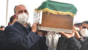 Adalet Bakanı Gülün annesi son yolculuğuna uğurlandı