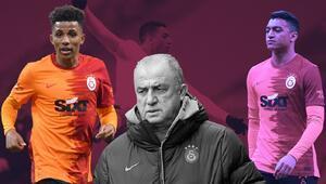 Galatasaray-Fatih Karagümrük maçında Gedson Fernandesten bir ilk Mostafa Mohamed kararı sonrası...