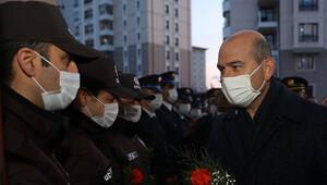 Bakan Soyludan 10 Nisan Polis Günü'nde Şehit Behram Aktaşlı Polis Merkezi Amirliğine ziyaret