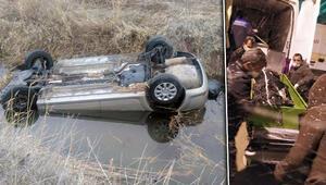 Kayseride aile faciası Korkunç kazada 1i çocuk 4 kişi öldü