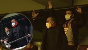 Galatasarayda Fatih Terim çılgına döndü İptal kararı sonrası hakeme tribünden tepki gösterdi