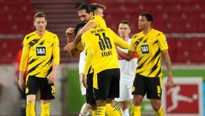 Bundesligada Borussia Dortmund 3 puanı 3 golle aldı