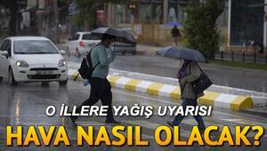 Kar ve yağmur uyarısı - Pazar günü hava nasıl olacak MGM 11 Nisan İstanbul, Ankara, İzmir ve il il hava durumu tahminleri