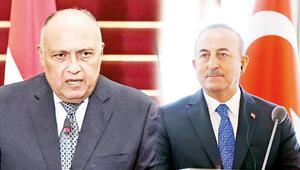 Mısır ile önemli temas: Çavuşoğlu ile Şükrü telefonda görüştü