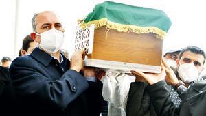 Bakan Gül'ün annesi uğurlandı