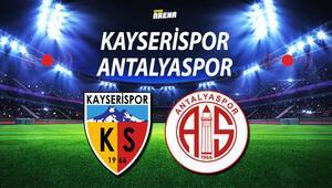 Kayserispor Antalyaspor maçı ne zaman saat kaçta hangi kanalda