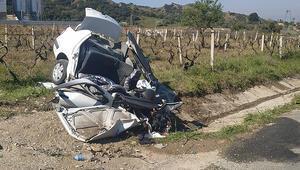 Manisada feci kazada can pazarı: 3 kişi hayatını kaybetti