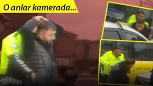 Arnavutköyde polis ile korsan taksici arasında nefes kesen kovalamaca