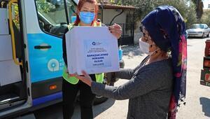 Büyükşehir, Ramazan gıda paketi dağıtımına başladı
