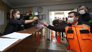 Başkan Tütüncüden polis haftasında sürpriz ziyaret