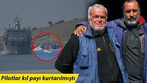 İzmirde denize düşen uçaktaki pilotların kurtarılmasına yardım eden balıkçılar konuştu