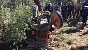 Kullandığı traktörün altında kalan çiftçi hayatını kaybetti