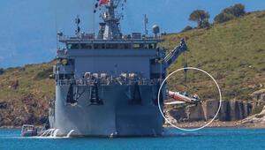 MSB açıkladı: İzmir'de düşen eğitim uçağı denizden çıkarıldı