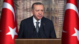 Cumhurbaşkanı Erdoğan, Uluslararası Demokratlar Birliği üyelerini kabulünde konuştu