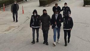 Eskişehirde sokakta uyuşturucu satışına 3 tutuklama