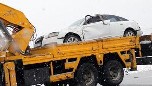Yargıtay Cumhuriyet Savcısı kaza geçirdi