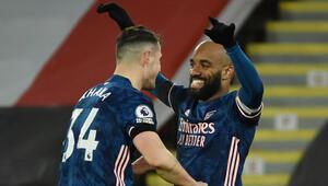 Arsenal, Sheffield Unitedı 3 golle mağlup etti
