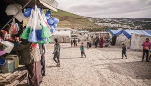 İdlib sakinleri ramazana yine acıyla giriyor