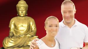 'Buda'cı 'Tao'cu eşe dava Bir kadınla inzivaya gitti, evde sürekli ayin düzenledi