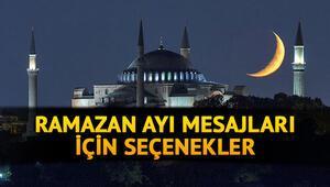 Ramazan ayı mesajları 2021- En güzel, resimli, yeni ramazan mesajları ve sözleri için seçenekler