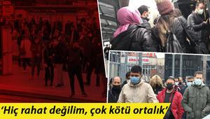 İstanbulda toplu ulaşımdaki yoğunluk endişe veriyor