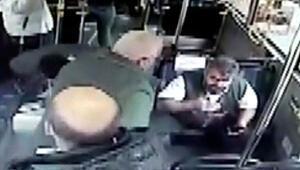 Sarıyerde İETT şoförüne mermerli saldırı