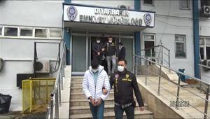 Diyarbakırda hırsızlık çetesine operasyon: 14 gözaltı