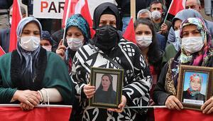 HDP önündeki eylemde 588inci gün... Aile sayısı 226 oldu