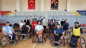 Tütüncü: Salonumuz engelli sporcularımızın emrinde