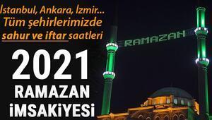İstanbul iftar vakti: İstanbulda iftar saat kaçta (İl il 2021 Ramazan İmsakiyesi) Tüm illerin iftar ve sahur vakitleri