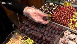 Mısır Çarşısının en pahalı hurması; tanesi 5 liraya satılıyor