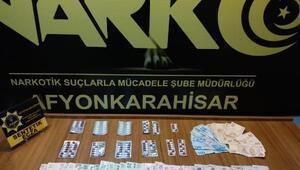Afyonkarahisarda uyuşturucu operasyonları