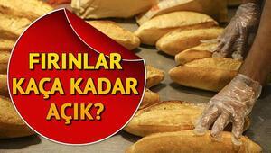Ramazanda fırınların çalışma saatleri için açıklama