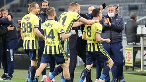 Fenerbahçe 3-1 Gaziantep FK (Maçın özeti ve golleri)