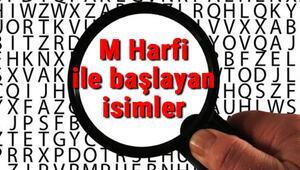 M Harfi ile başlayan hayvan, şehir, ülke, isim, eşya, bitki, çiçek, meyve, kuş ve ünlü (Artist) isimleri