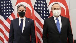 Dışişleri Bakanı Çavuşoğlu, ABDli mevkidaşı Blinkenla görüştü