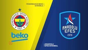 Euroleaguede Anadolu Efes ile Fenerbahçe Bekonun play-off programı belli oldu