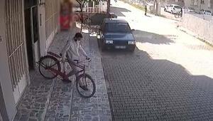 13 motosiklet ve bisiklet çaldı, kamera görüntülerinden yakalandı